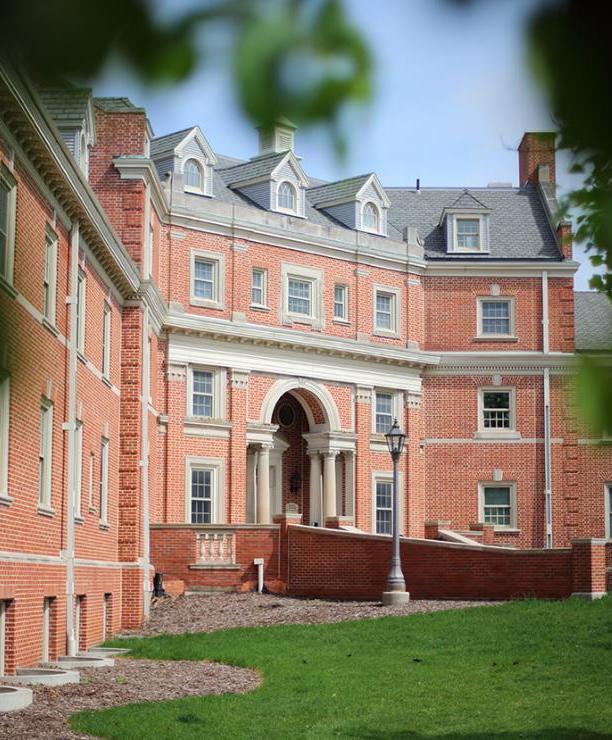 Campus dorm building